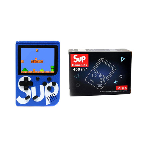 Игровая приставка SUP GAME BOX Plus 400 в 1 синий
