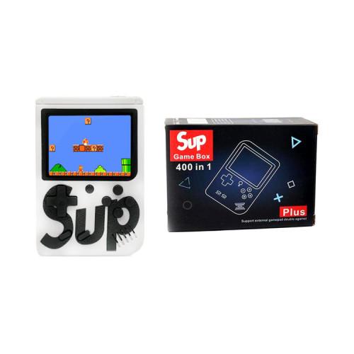 Игровая приставка SUP GAME BOX Plus 400 в 1 белый