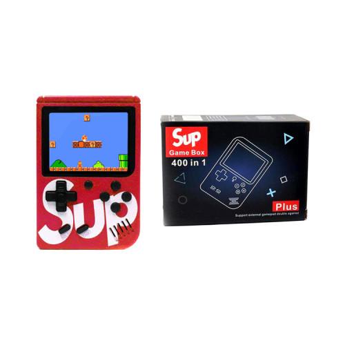 Игровая приставка SUP GAME BOX Plus 400 в 1 красный