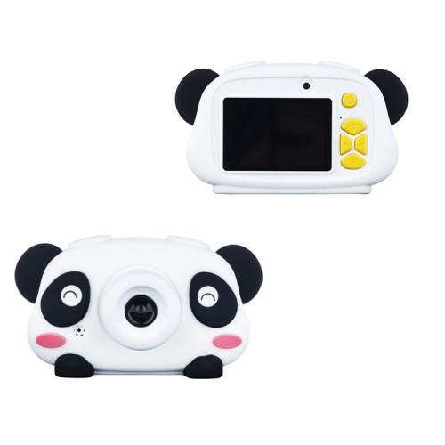 Детский фотоаппарат + чехол панда KC700 белый