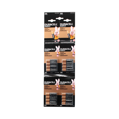 Батарейки LR6 AA DURACELL 16шт. (листовой) (К)