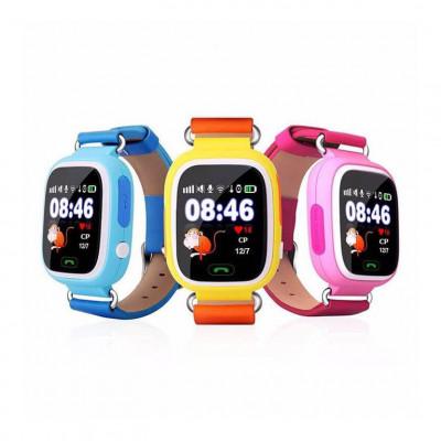 Детские умные часы Q90 с GPS трекером