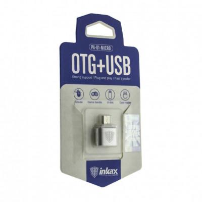 Адаптер OTG USB - Micro USB PA-01 INKAX