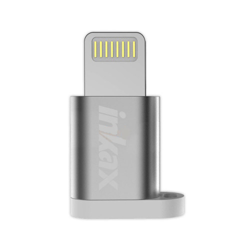 Адаптер OTG Micro USB - Lightning PA-02 INKAX