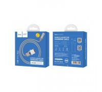 Кабель Micro USB U40B магнитный серый HOCO