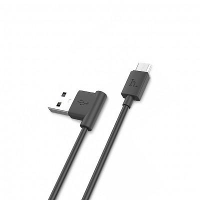 Кабель Micro USB UPM10 1.2M черный HOCO