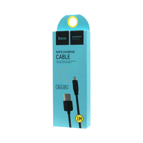 (К) Кабель Micro USB X1 черный HOCO