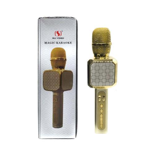 Караоке-микрофон YS-05 золотой