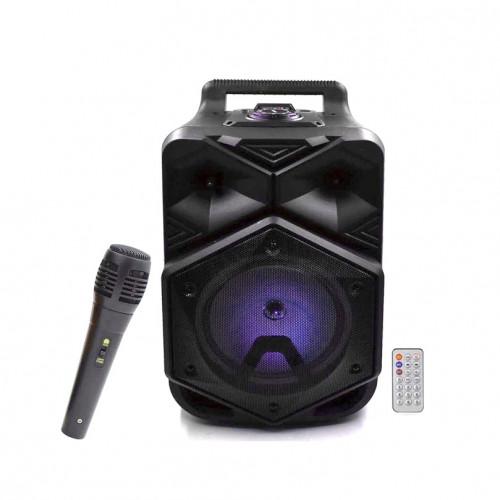 Портативная колонка BT-1778 с микрофоном + пульт ДУ черный BT SPEAKER