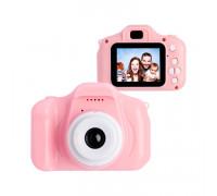 Детский фотоаппарат D600 розовый