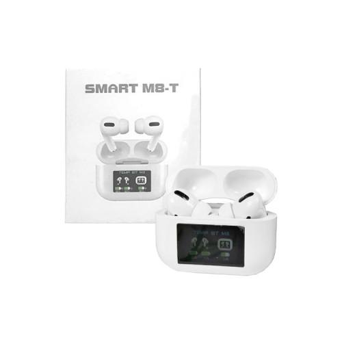 Беспроводные наушники Smart M8-T (с градусником) белый