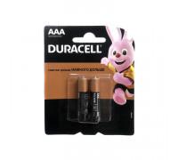 Батарейки LR03 AAA DURACELL 2шт.