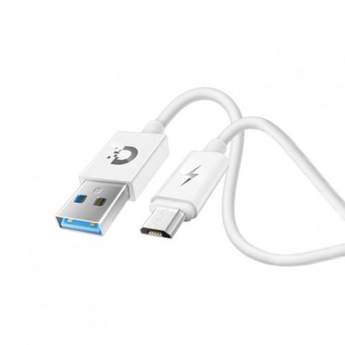 Кабель Micro USB MS02 QC3.0 1М белый DREAM (техпак)