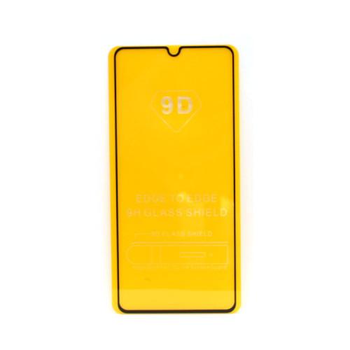 Защитное стекло 3D для Samsung Galaxy A41 черный (техпак)
