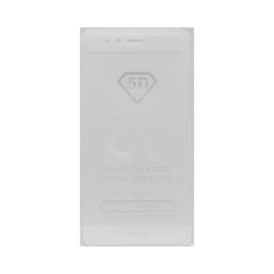 Защитное стекло 3D для Huawei P10 Lite белый (техпак)