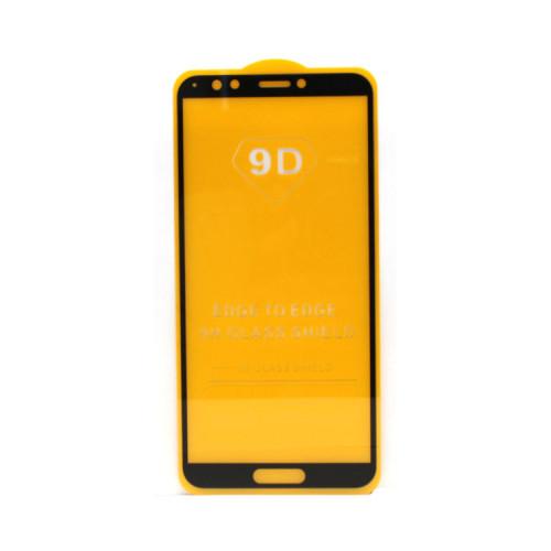 Защитное стекло 3D для Huawei Honor 7C Pro/Y7 2018 черный (техпак)