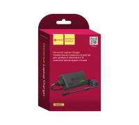 СЗУ для ноутбука NA02 универсальное (96W, 12-24V, 5A max, 13 plugs) черный DREAM