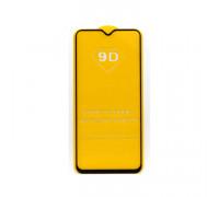 Защитное стекло 3D для Xiaomi Redmi Note 8 черный (техпак)