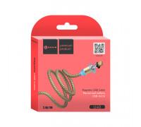 Кабель Micro USB U40 QC3.0 2.4A 1M (магнитный) золотой DREAM