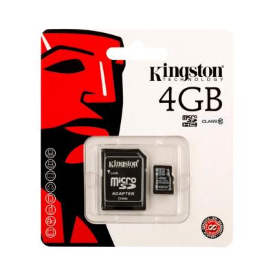 MicroSD 4GB KINGSTON