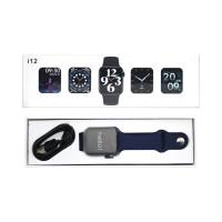 Смарт-часы i12 (44mm) синий SERIES 6
