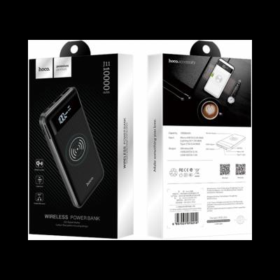 Внешний аккумулятор J11 (w.charge) 10000mah черный HOCO