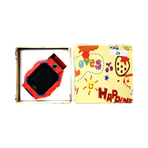 Смарт-часы Z6 красно-фиолетовые (детские)
