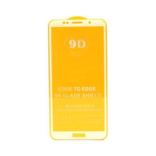 Защитное стекло 3D для Huawei Honor 7A/Y5 2018 белый (техпак)