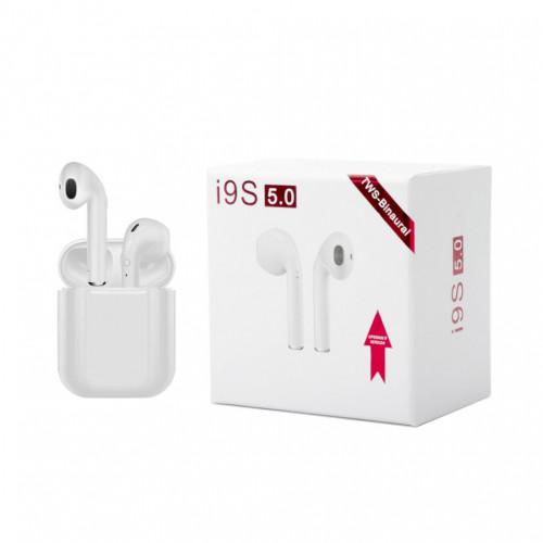 Беспроводные наушники i9S 5.0 белый TWS