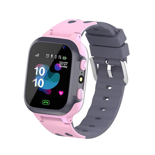 Смарт-часы E07 розовые детские