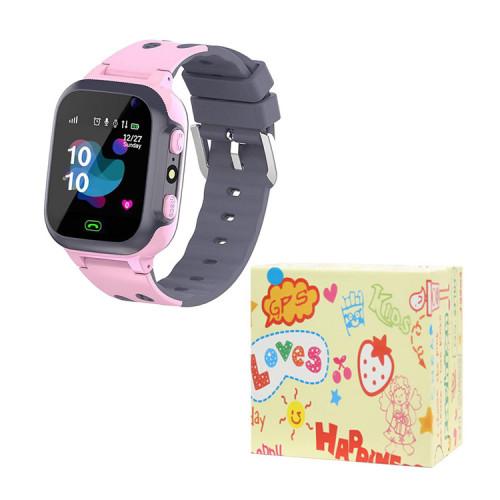 Детские умные часы E07 розовый