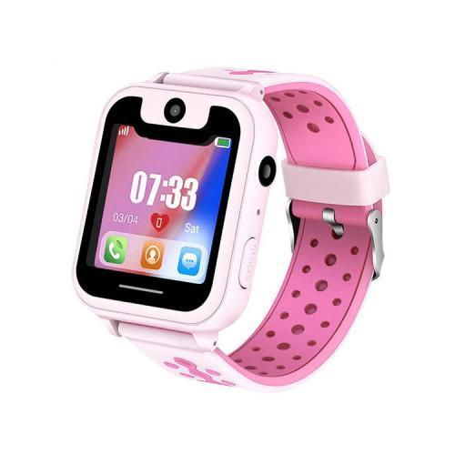 Смарт-часы S6 розовые детские