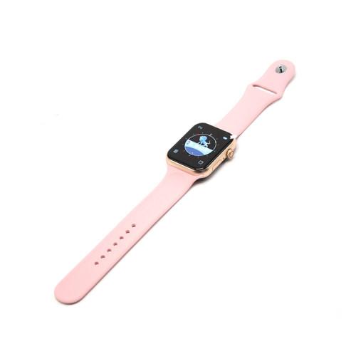Смарт-часы Z20 Smart Watch 6 золотой - розовый ремешок