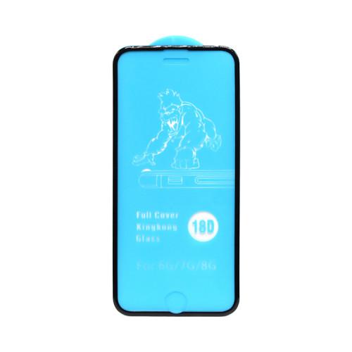 Защитное стекло 18D для Apple iPhone 6/7/8 рамка черный