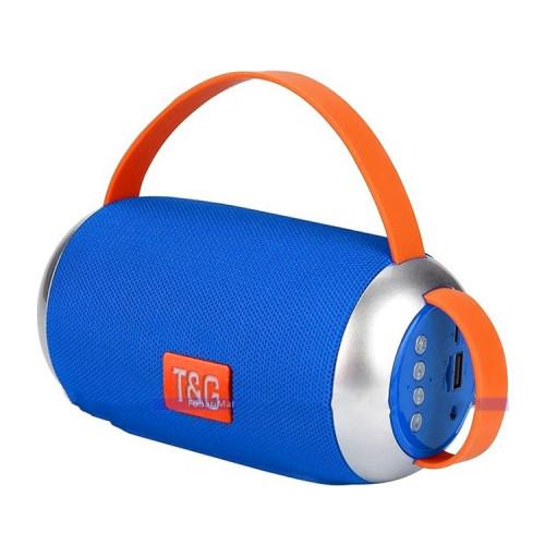 Портативная колонка TG-112 синий T&G