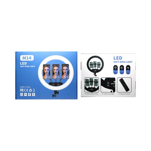 Кольцевая лампа M14 (36см) с держателями + пульт ДУ LED SRL