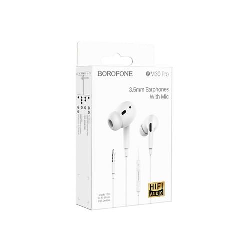Наушники с микрофоном BM30 Pro белый BOROFONE