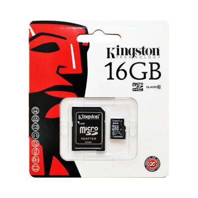 MicroSD 16GB KINGSTON