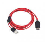 Кабель-адаптер HDMI на Micro USB 1080p HDTV