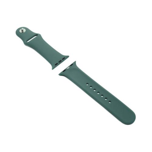 Ремешок силиконовый для Apple Watch 42-44mm полынь
