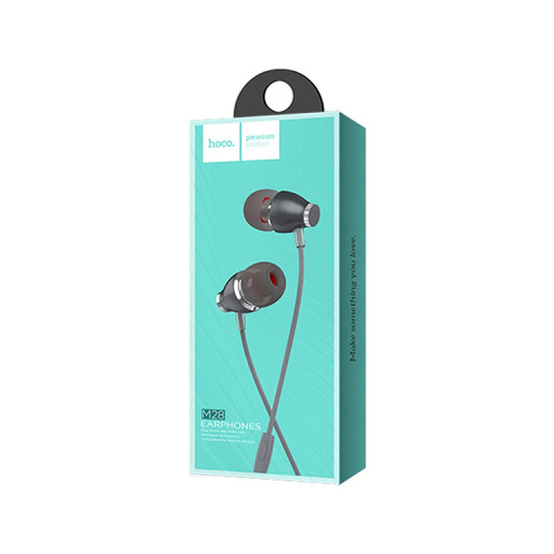 Наушники с микрофоном M28 серый HOCO