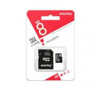 MicroSDHC 8GB Class 10 SMARTBUY
