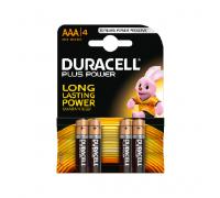 Батарейки LR03 AAA DURACELL 4шт. (К)