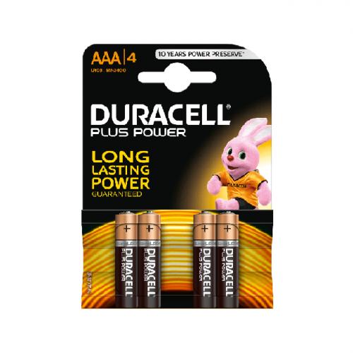 Батарейки LR03 AAA DURACELL 4шт.