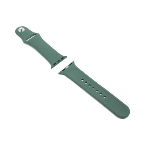 Ремешок силиконовый для Apple Watch 38-40Smm полынь