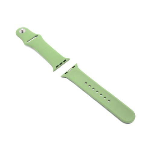 Ремешок силиконовый для Apple Watch 38-40Smm зеленый