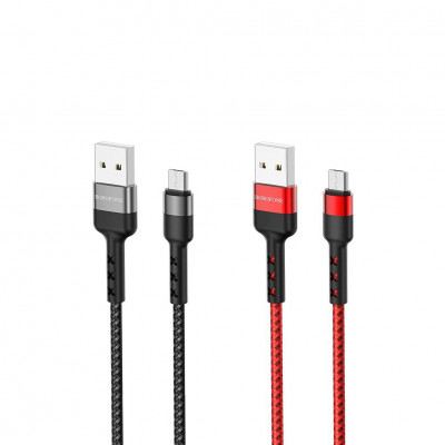 Кабель Micro USB BX34 красный BOROFONE
