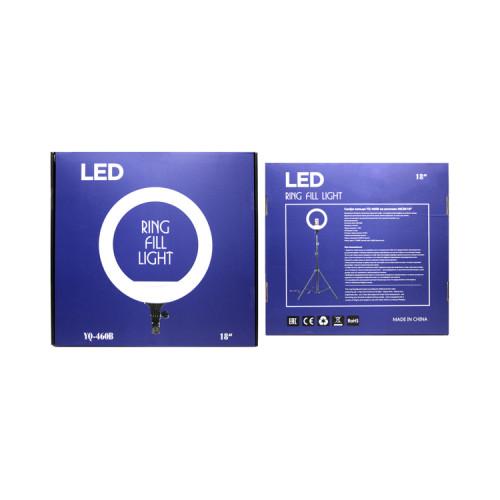 Кольцевая лампа YQ-460B (46см) с держателями + пульт ДУ