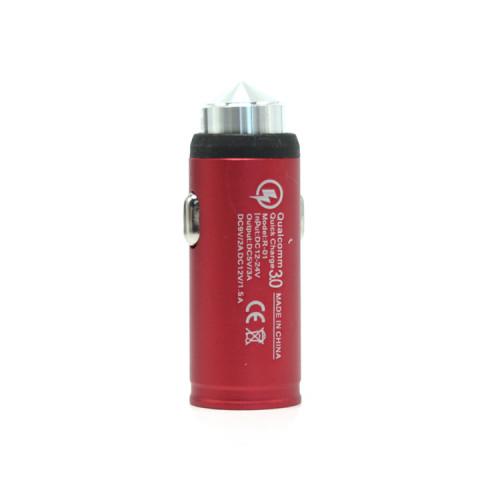 АЗУ 1USB QC3.0 R-01 красный
